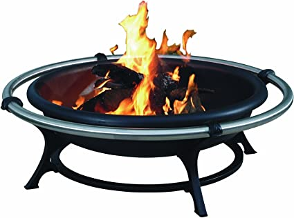 Amazon Com Char Broil Stainless Rail Fireplace Fire Pits Garden Outdoor