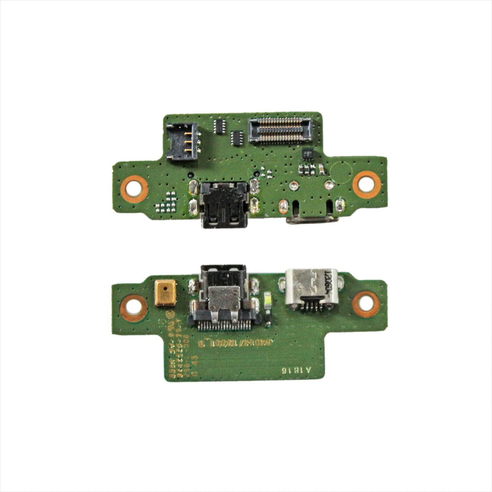Zahara USB HDMI Charging Port Flex Board Replacement for Motorola Xoom 2 MZ615 MZ616 MZ617