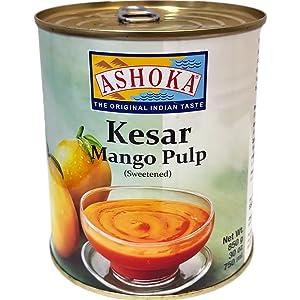 Ashoka - Kesar Mango Pulp, 30oz / 850g
