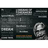 Fool's Desire 'A Tribute To Dr. A.P.J. Abdul Kalam' Poster Art Print (46 x 30.50 cm - A3)