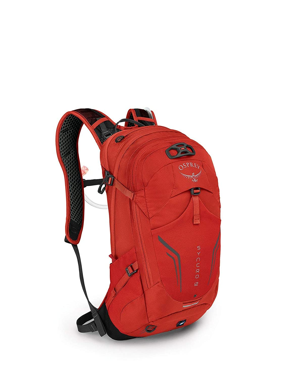 (オスプレー) OSPREY シンクロ12 バイクバックパック (並行輸入品) One Size FIREBELLY RED B07NYNXN44