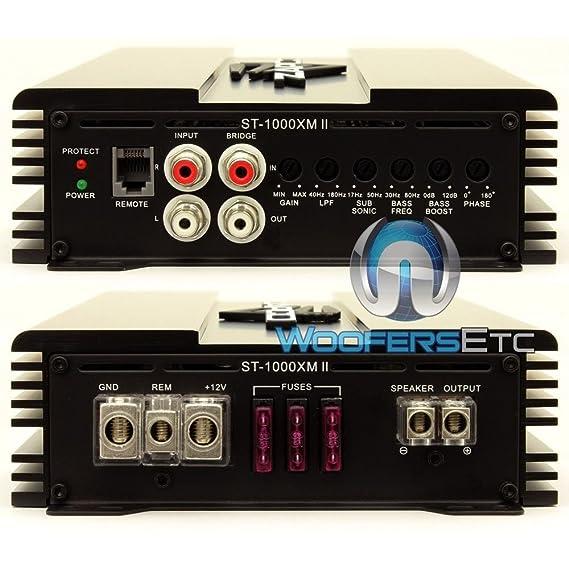 Amazon.com: Zapco ST-1000XMII 1000 watt Mono Class D Amplifier: Car Electronics