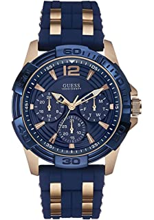 fc3eba46b9057 Guess - Montre homme Sport steel silicone (W0366G4) taille Taille unique cm