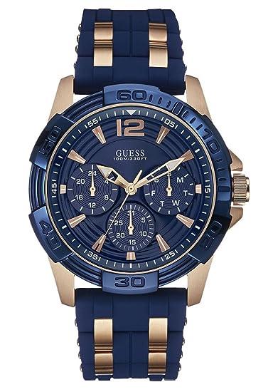 comprar garantía de alta calidad atarse en Guess – Reloj Hombre Sport Steel Silicona (w0366g4) Talla Talla única cm