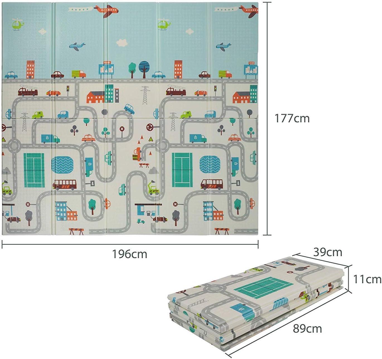 Tapis de Puzzle Animaux color/é Tapis Mousse B/éb/é Dalles 32 x 32 cm avec Certification CE /& T/ÜV Tapis pour Enfants VeloVendo/®