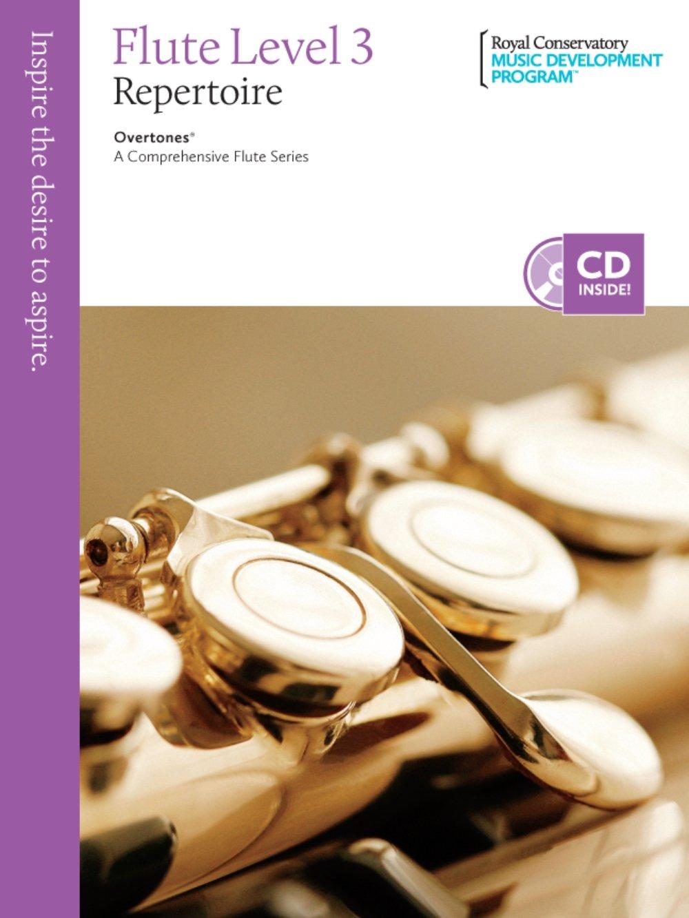Flute Repertoire 3 (Overtones: A Comprehensive Flute Series) PDF