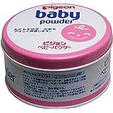 ピジョン ベビーパウダー ピンク缶 ×3個セット