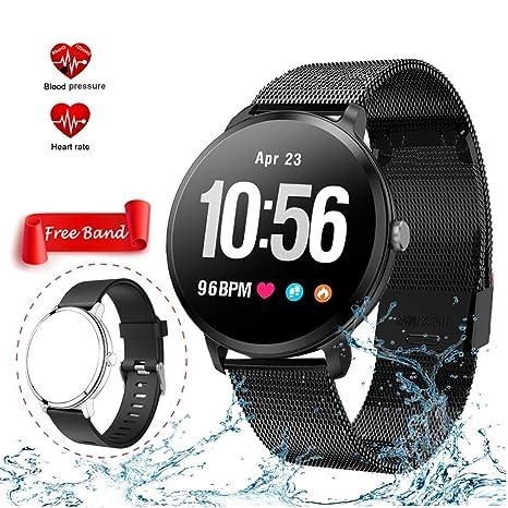 Mrsix Pulsera Actividad Smartwatch Inteligente Reloj ...