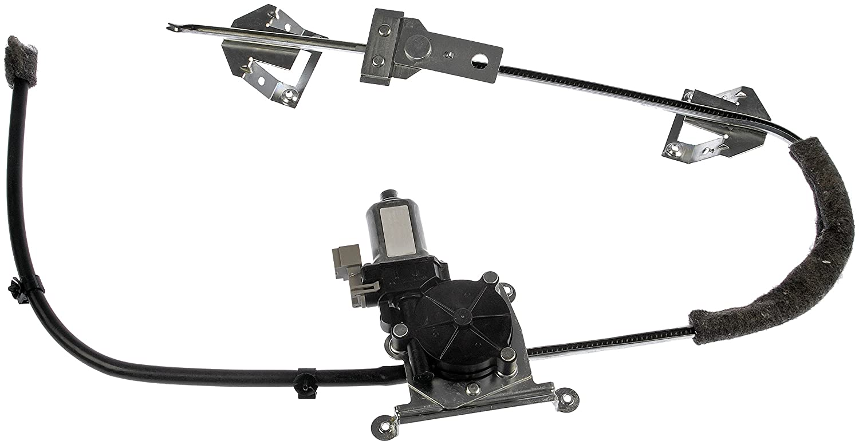 Dorman 741-539 Front Passenger Side Power Window Regulator and Motor Assembly for Select Jeep Models