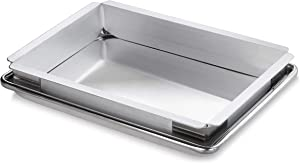 New Star Foodservice 42597 Aluminum Sheet Bun Pan Extender, 9 x 13 inch (Quarter Size)