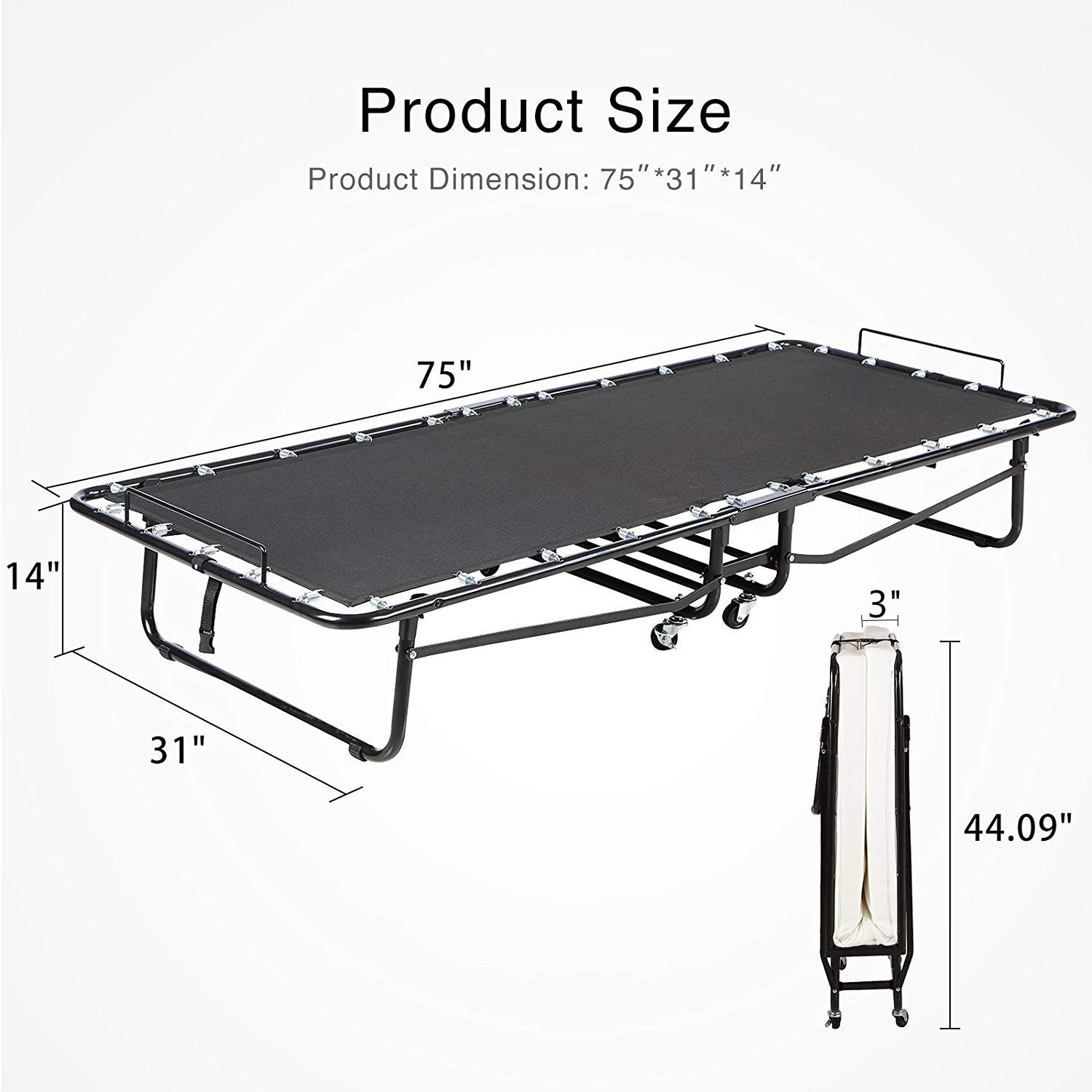 Heavy Duty Rollaway Beds For Heavy People For Big And