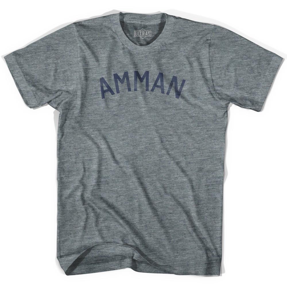 Amman Vintage City Adult Tri-Blend T-shirt
