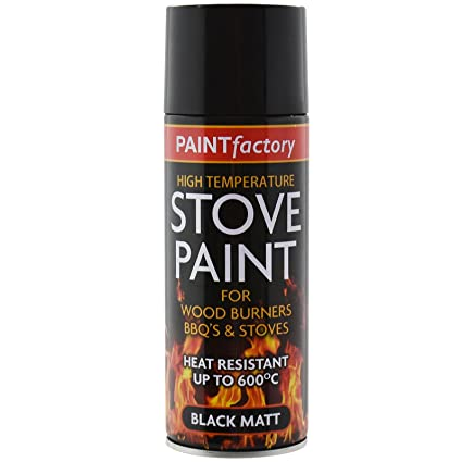 Bote de pintura resistente al calor (hasta 600 º C) de 400