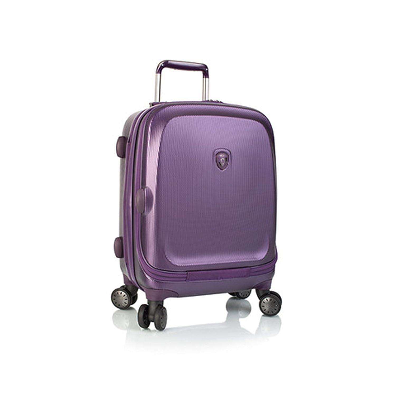 ... 50% SALE ... PREMIUM DESIGNER Hartschalen Koffer - Heys Crown Smart Gateway Lila - Handgepäck