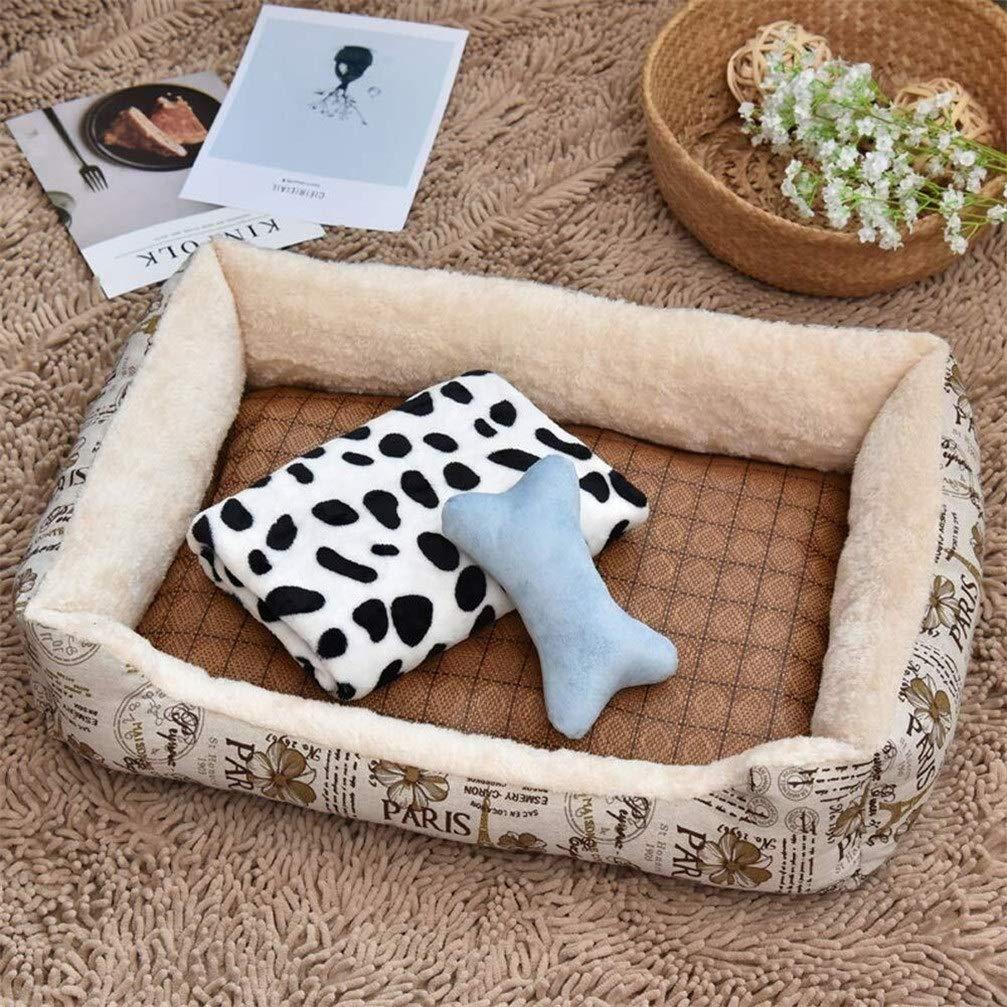Chunchun Modern Dual Use Ultra Soft Warm Pet Dog Cat Sleeping Mat, for Small/Medium/Large Pets Dogs Cats (Color : White, Size : XXL) by Chunchun