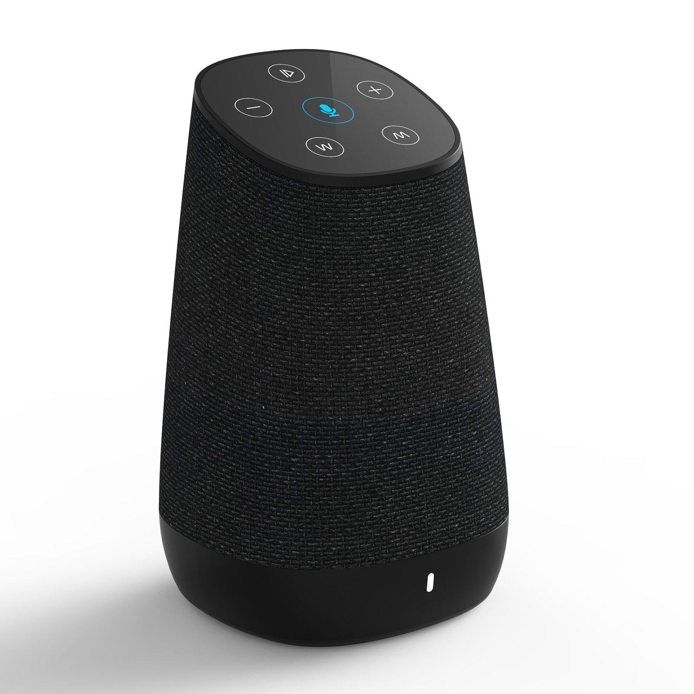 COWIN DiDa with Amazon Alexa Bluetooth Speakers, Smart Wireless Wifi Portable Bluetooth Speaker 15W Output Power with Enhanced Bass- Black