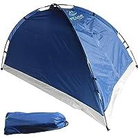 FE Active - Tente 1 à 2 Personnes Avec Entrée Blindée et Installation Rapide et Facile, Résistante à l'eau pour l'extérieur, Camping, Randonnée et les Voyages   Conçu en Californie, ÉTATS-UNIS