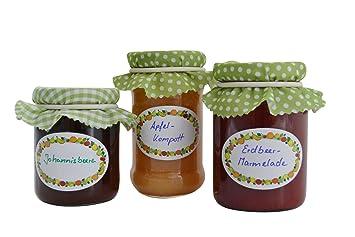 Jumbo de conservas etiquetas Pack de 3 x 100 Stk, presupuesto etiquetas - Autoadhesivo para mermelada, Conservas de y especias: Amazon.es: Oficina y ...