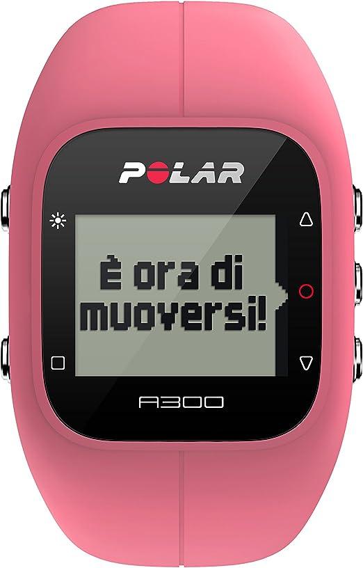 Polar A300 HR Pulsómetro de Entrenamiento, Unisex, Rosa, Talla ...