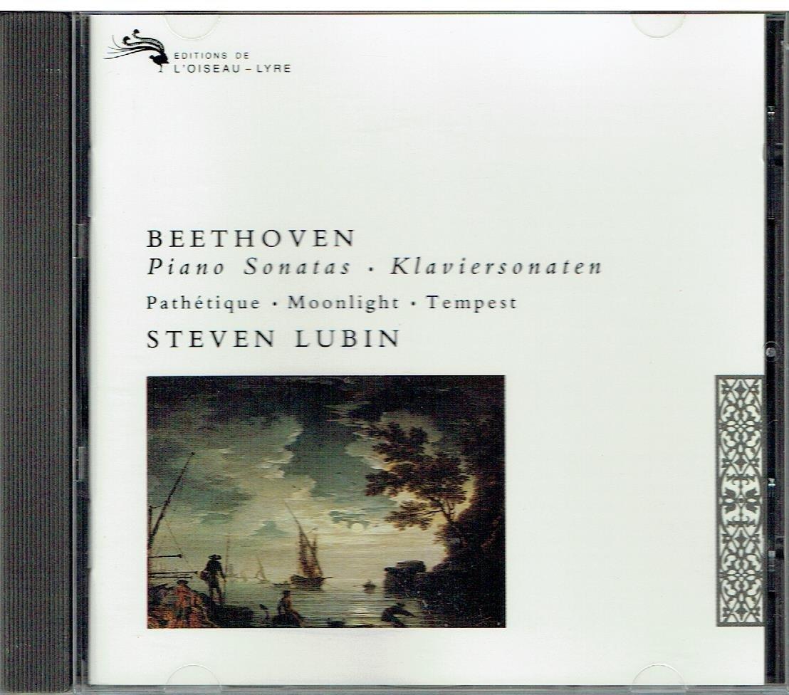 """Beethoven: Piano Sonatas Piano Sonata No. 8 in C minor, Op. 13 """"Pathetique""""; Piano Sonata No. 14 in C sharp minor, Op. 27 No. 2 """"Moonlight""""; Piano Sonata No. 17 in D minor, Op. 31 No. 2 """"Tempest"""""""