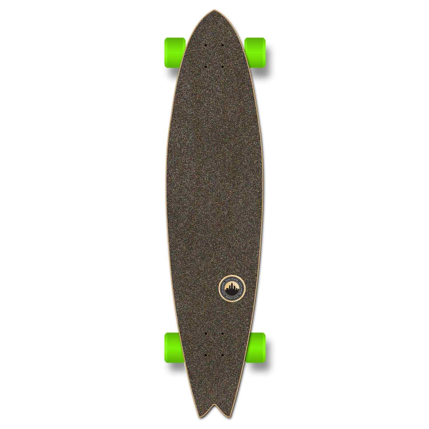 Yocaher VW Vibe Beach Series Skateboard Longboard Complete Cruiser – Available in Drop Down, Lowrider, Drop Through, Pintail, Kicktail, Fishtail, and Old School and Skateboard