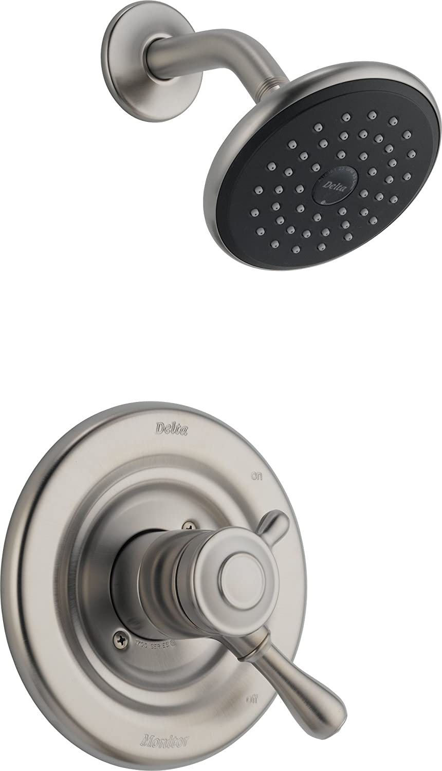 Delta T17278 SS Leland Monitor 17 Series Shower Trim, Stainless   Shower  Installation Kits   Amazon.com