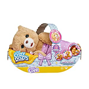 Little Live Pets Cozy Dozy Cubbles The Bear, Multicolor