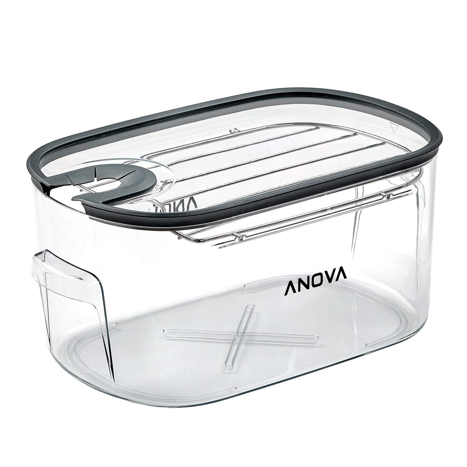 Anova Culinary ANTC01 Sous Vide Cooker Cooking container, Holds Up to 16L of Water, With Removable Lid and Rack