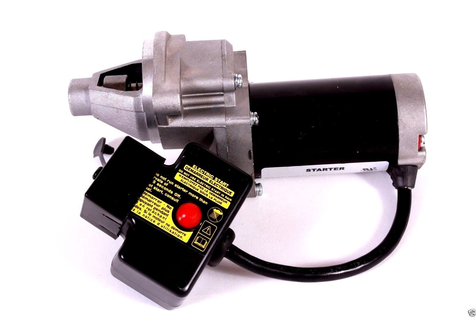 Genuine LCT Lauson 44002 120V Electric Starter Assy For 414cc Snow Engines