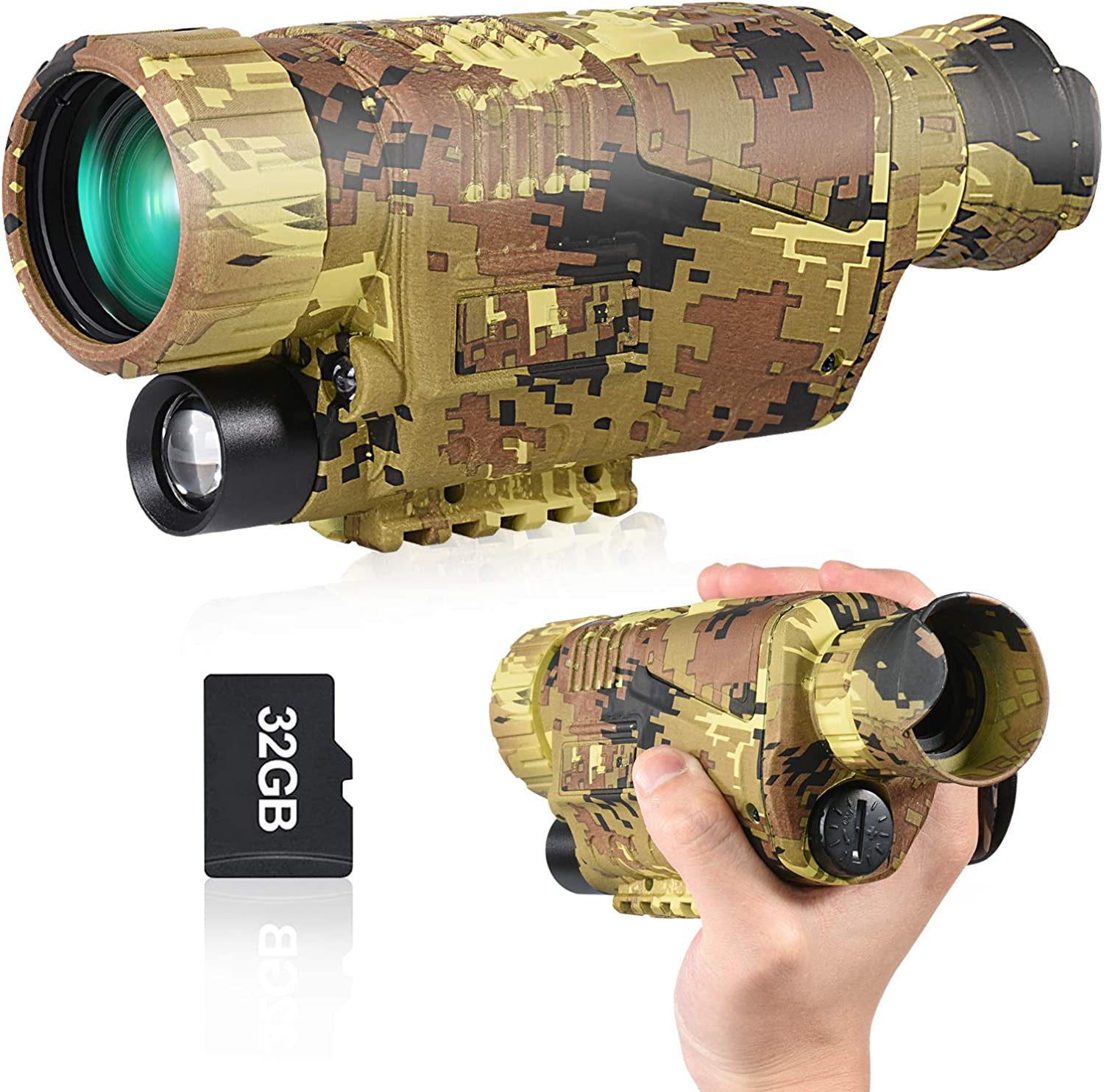 Top 10 Best Night Vision Goggles for Hunting [Buying Guide Reviews - 2021] 9