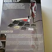 Wahl Magic Clip - Cortapelos, red: Amazon.es: Salud y cuidado personal