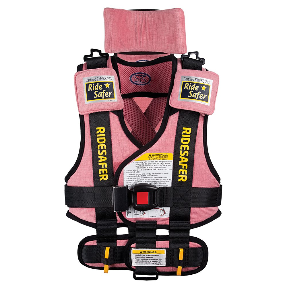 Amazon.com : Safe Traffic System Travel Vest Type 2 Booster Seat ...