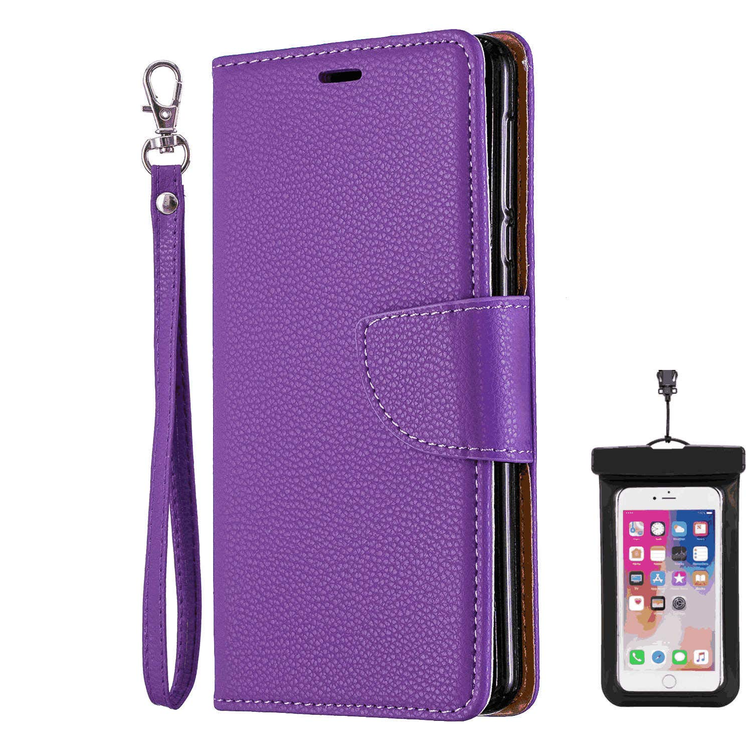 Flip Cover fit for Samsung Galaxy S10 Business Gifts with Waterproof-case Bags Leather Case for Samsung Galaxy S10