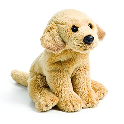 DEMDACO Yellow Labrador Golden Brown 5.5 Inch Soft Plush Stuffed Animal Figure Toy: Baby