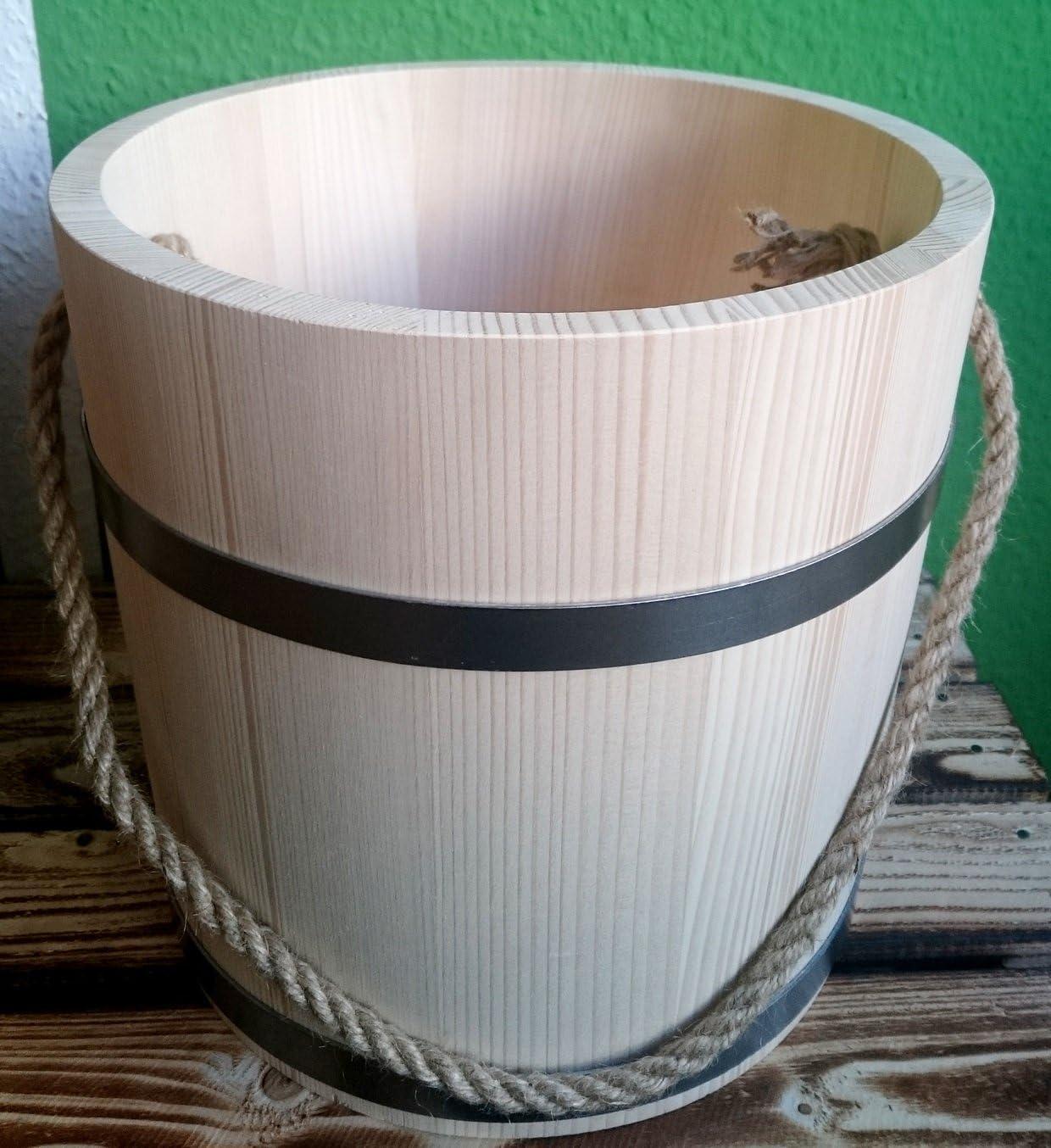 5 Liter Saunakübel Bottich trichterförmig 1 Griff