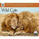 2018 Wild Cats WWF Wall Calendar