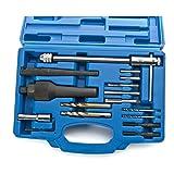 SUNROAD 16pcs Glow Plug Removal Remover Tool Kit