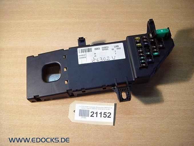 Caja de Fusibles Caja de Relés 24443147 desde Vectra C Signum Opel: Amazon.es: Electrónica