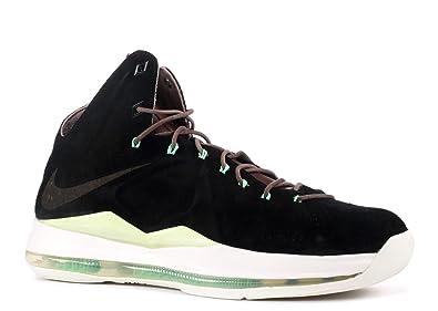 size 40 d82a3 81272 Nike Lebron 10 EXT QS - 8  quot Black Suede quot  ...