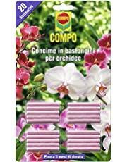 Compo 1197802005 Concime in Bastoncini per Orchidee, 20 Pezzi, Rosa, 0.5x14.4x24.3 cm