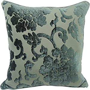 Newport Layton Home Fashions Renaissance Corded Polyester Filled Pillow, 20-Inch, Black