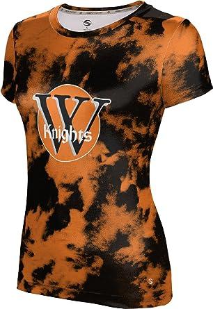 ac0ce9fe34bf Amazon.com: ProSphere Wartburg College Girls' T-Shirt - Grunge: Clothing