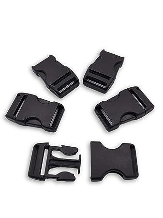 Kunststoff Klippverschluss Steckschließer Steckschnallen Release Buckle 20mm