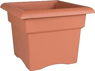 "product image for Bloem Veranda Deck Box Planter - 14"" - Terra Cotta"