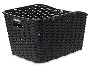 Basil Weave Wp Synthetic Woven Rear Bicycle Basket