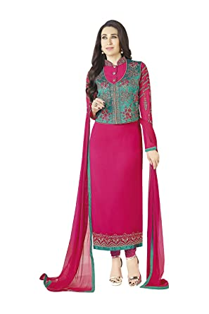 0cf65e9cea4 Image Unavailable. Image not available for. Color  Indian Designer Patywear  Ethnic Traditional Brown Anarkali Salwar Kameez ...