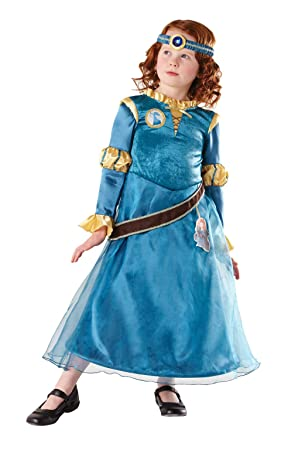 Rubies Deluxe Princess Meida (Brave tm) Fancy Dress Costume - Small size (disfraz