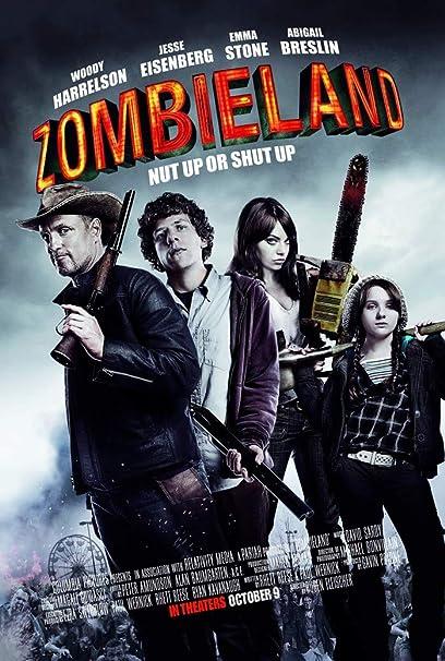Amazon Com Zombieland Double Tap 2019 Movie Poster 36x24