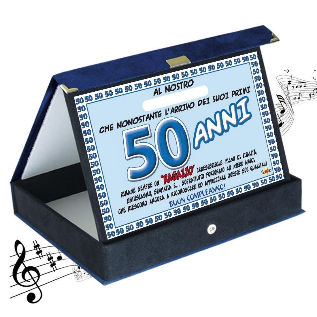 abbastanza Targa premio compleanno sonora 50 anni amico| Articolo, idee  EH85