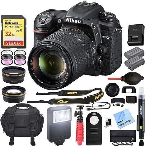 Nikon D7500 20,9 MP DX-Format 4K Ultra HD Cámara Réflex Digital ...